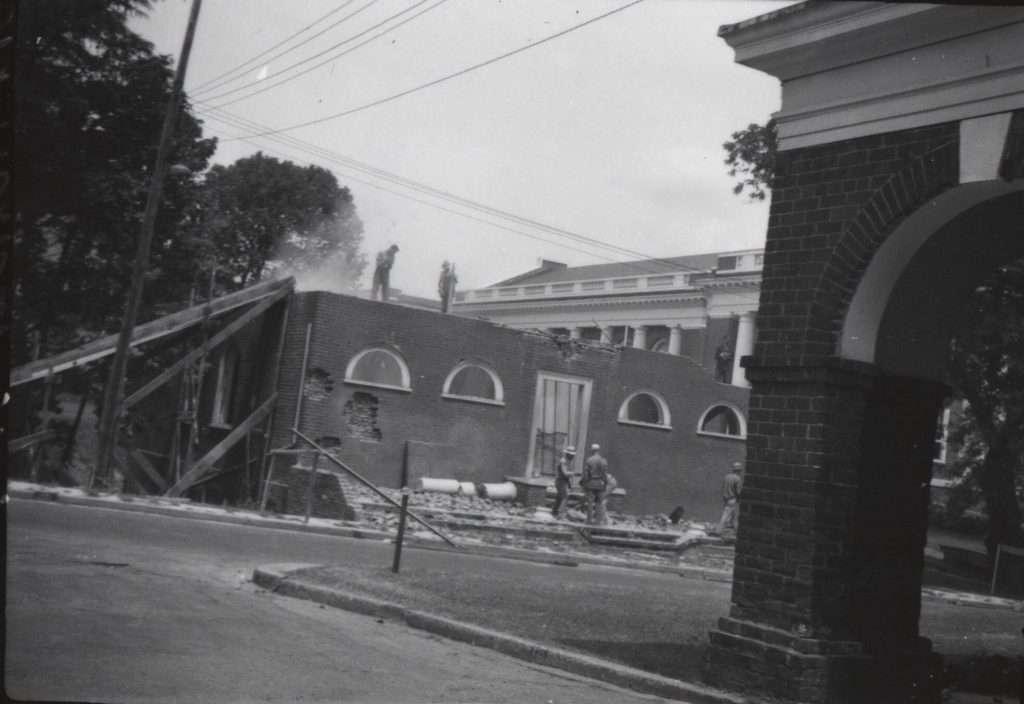 Anatomical Theatre Demolition