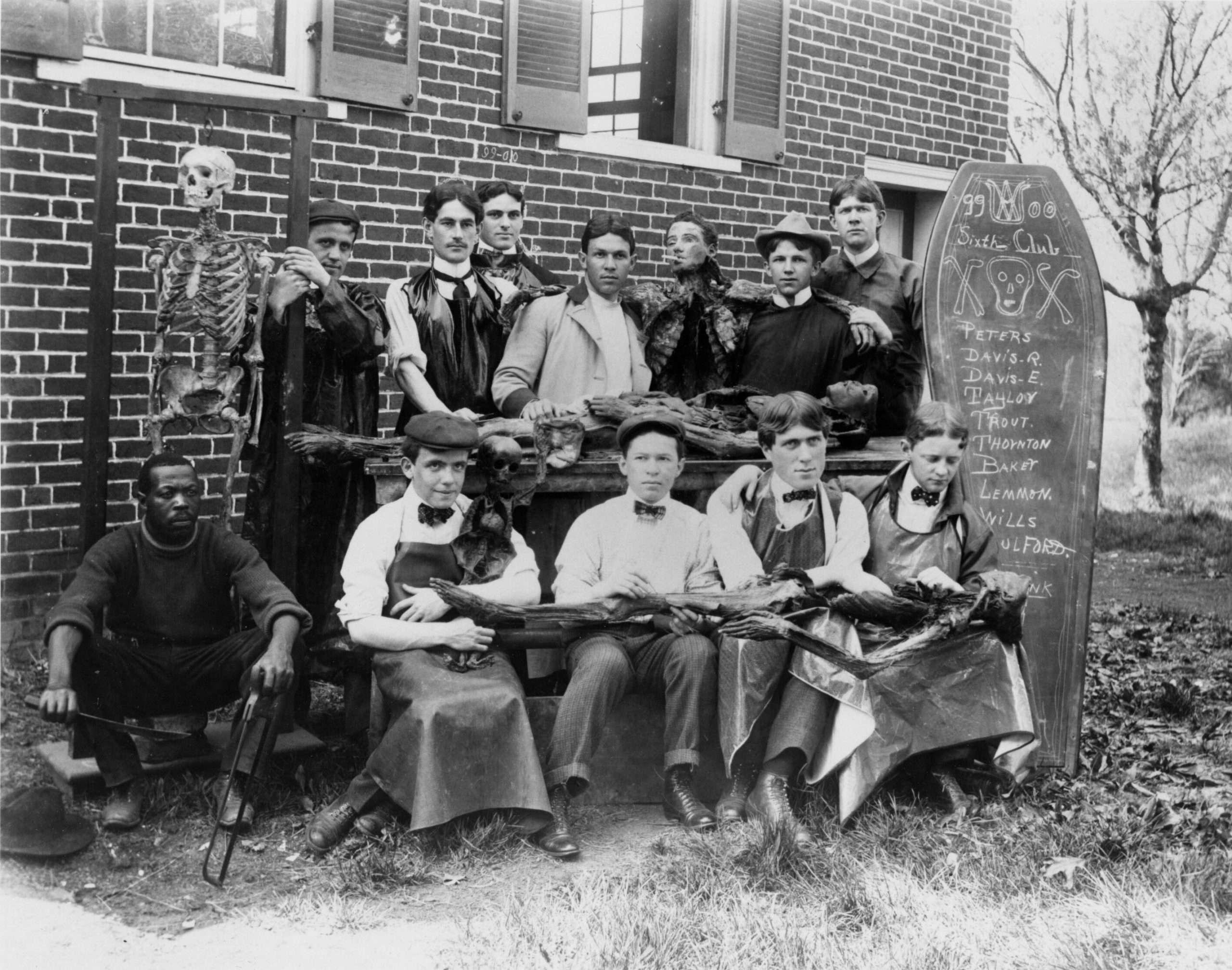 Sixth Club Cadaver Society (1899—1900)