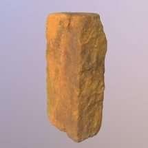 Brick from a Slave Quarter