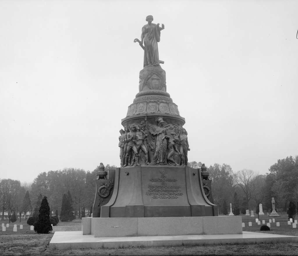 Confederate Memorial in Arlington Cemetery
