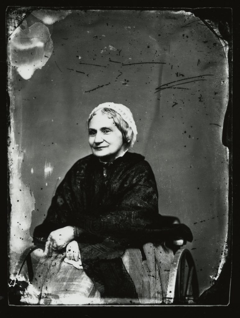 Mary Custis Lee in Old Age