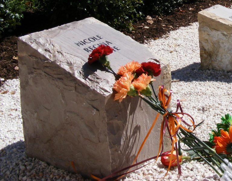 Memorial to a Slain Student