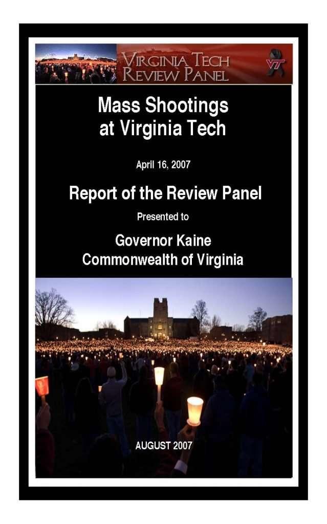 Mass Shootings at Virginia Tech