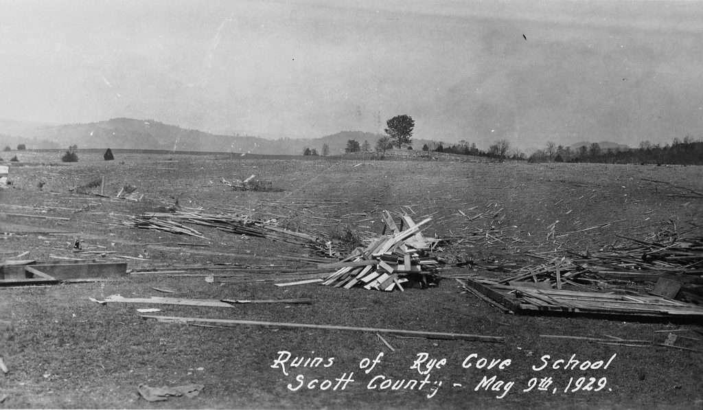 Ruins of Rye Cove School