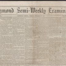 Richmond Semi-Weekly Examiner