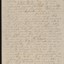 Letter from Robert E. Lee to Charles Carter Lee