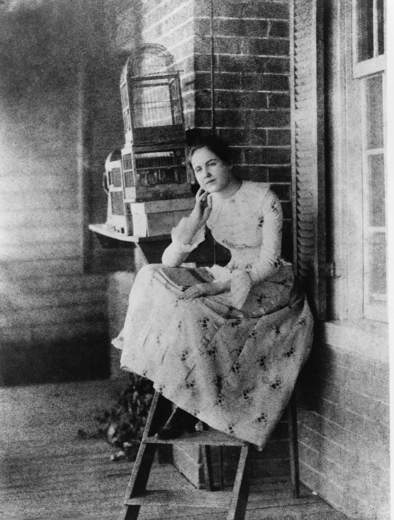 Edith Bolling at Thirteen