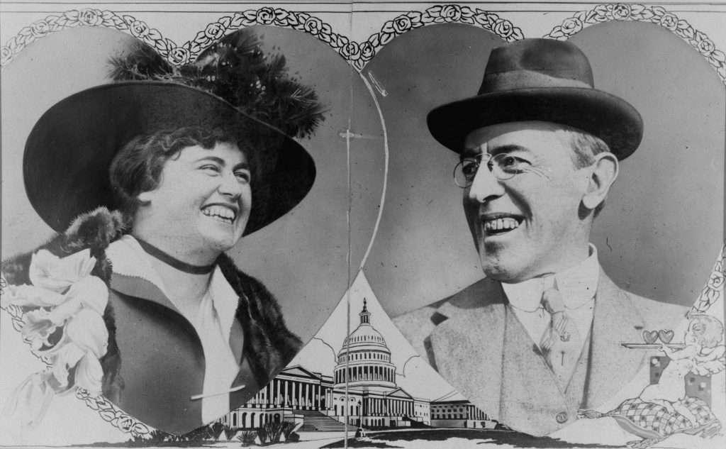 Edith Bolling Galt and Woodrow Wilson