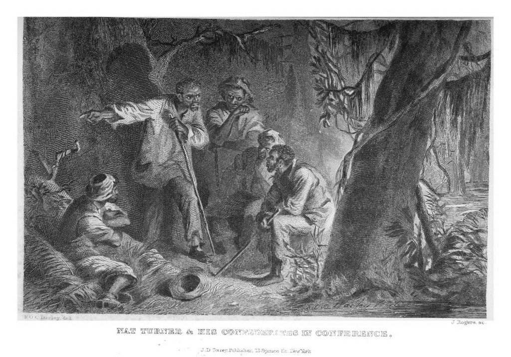 Nat Turner & His Confederates in Conference.