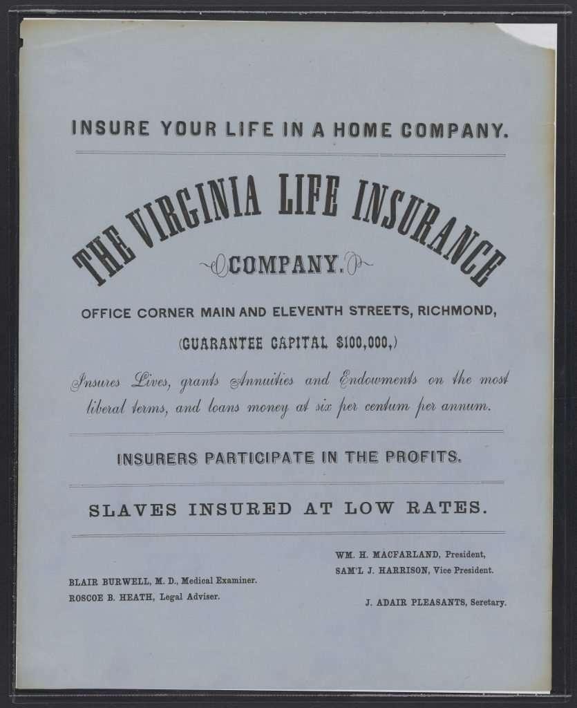 Virginia Life Insurance Company Advertisement