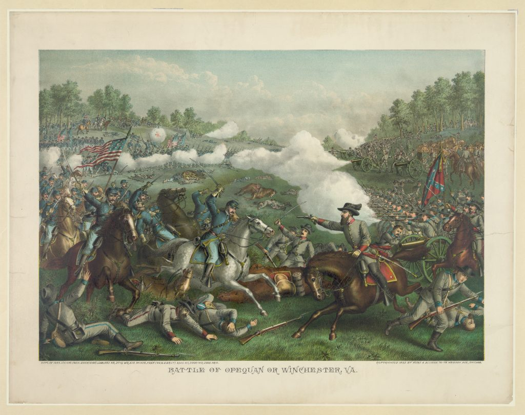 Battle of Opequon or Winchester