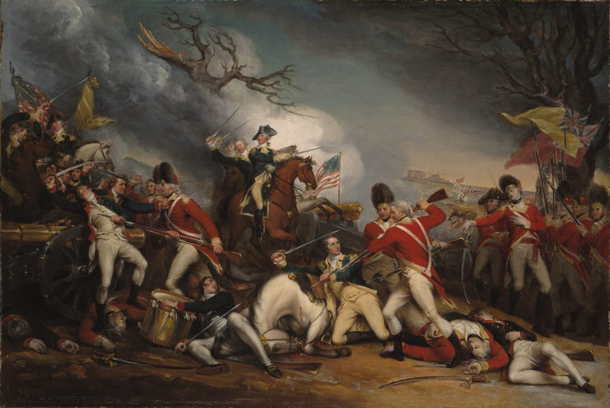 The Death of General Mercer at the Battle of Princeton