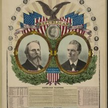 National Republican Chart 1876.