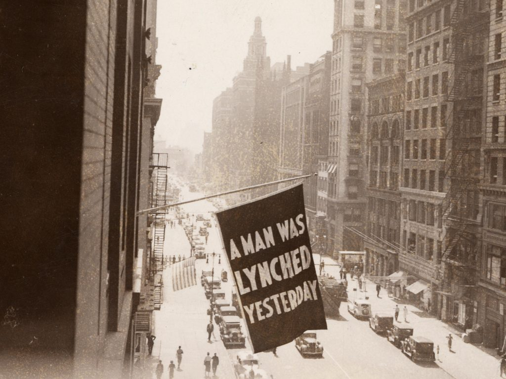 Anti-Lynching Banner