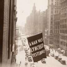 Anti-Lynching Banner