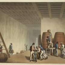 Interior of a Distillery