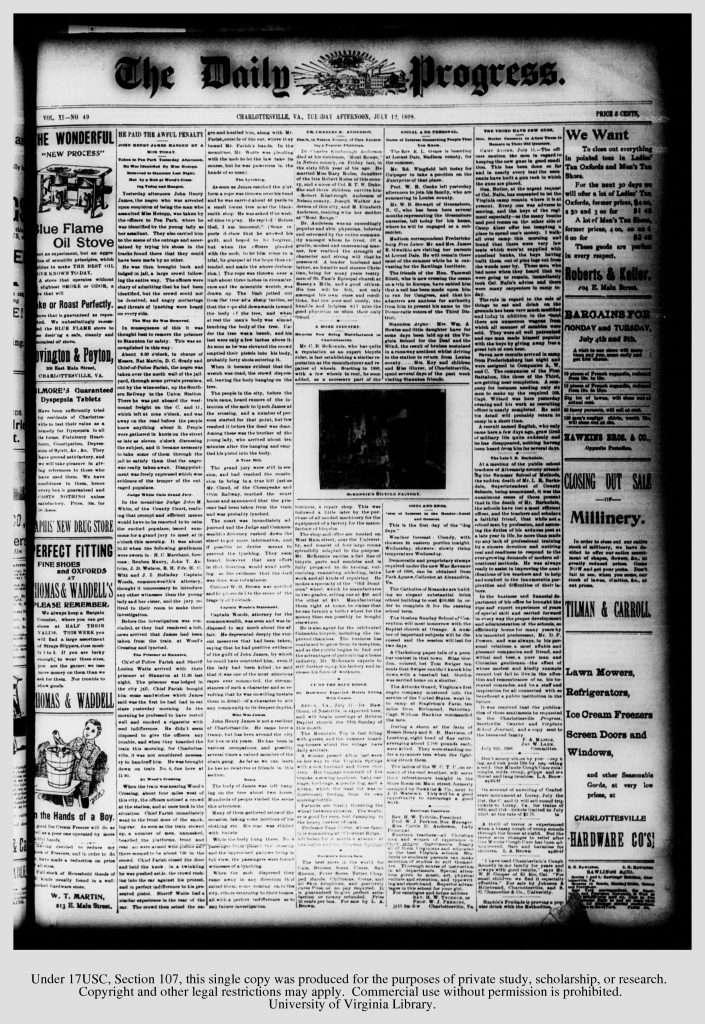 Charlottesville Daily Progress (July 12