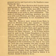 Constitution of the United Daughters of the Confederacy (1895)