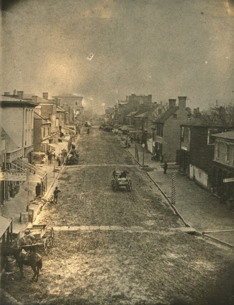 Main Street in Charlottesville