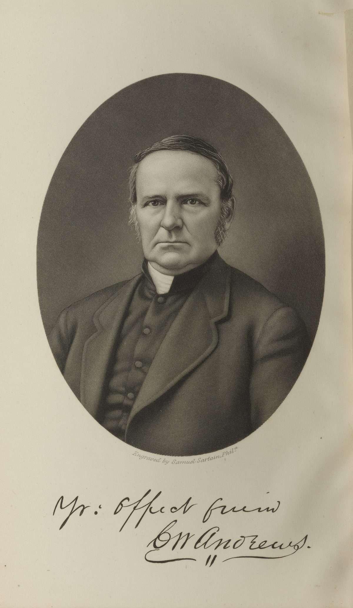 Reverend C. W. Andrews