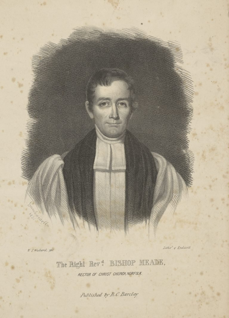 The Right Revd. Bishop Meade