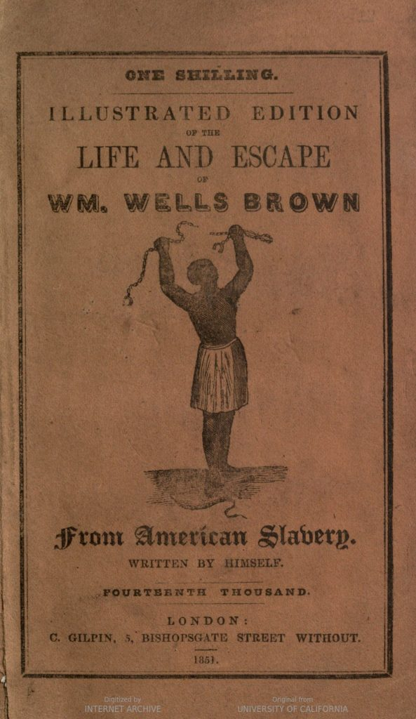 Life and Escape of Wm. Wells Brown