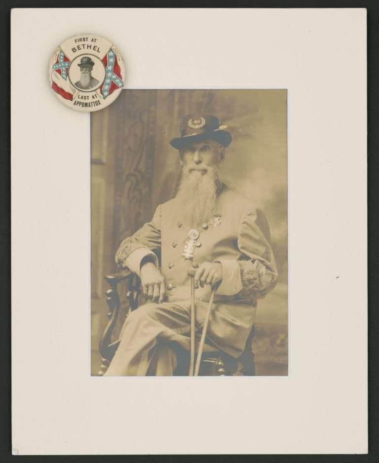 United Confederate Veterans Leader