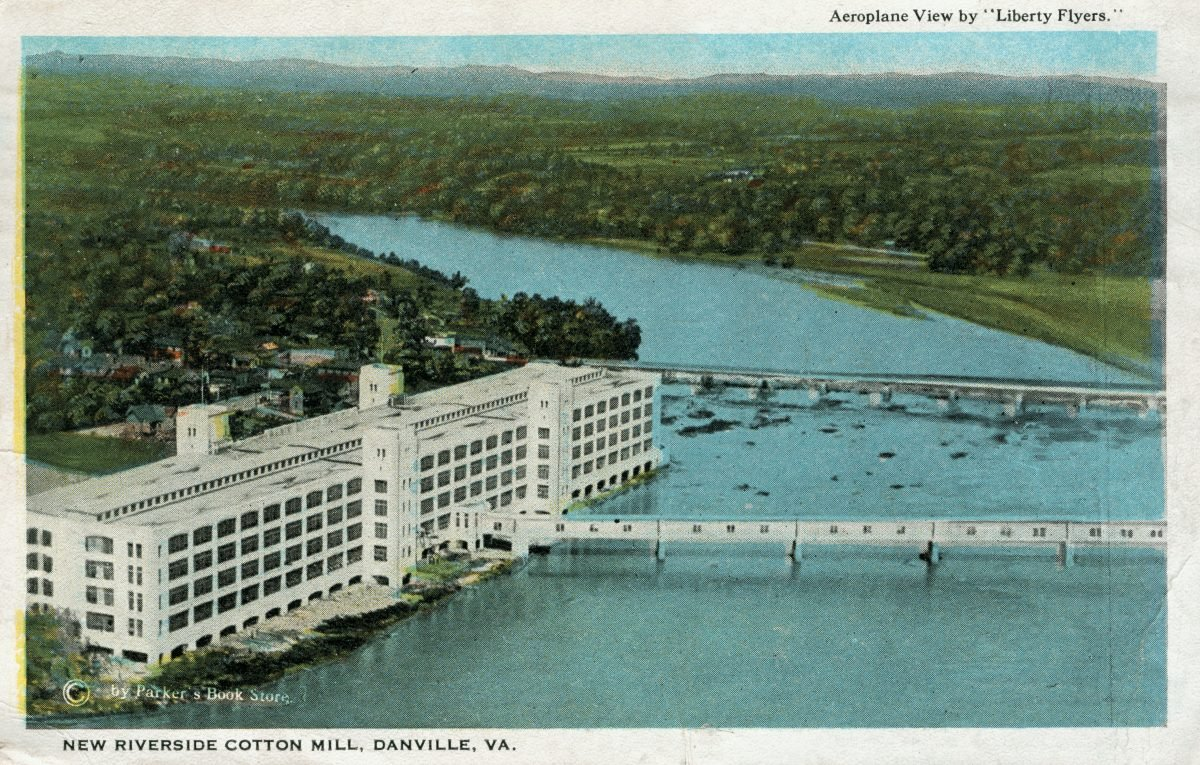 Dan River Mills Postcard