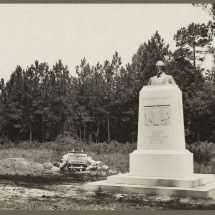 Monument to Confederate President Jefferson Davis