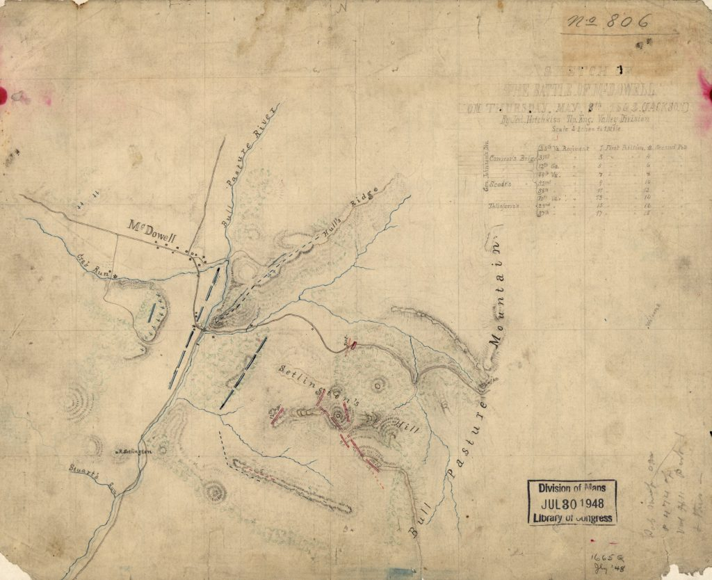 Sketch of the Battle of McDowell