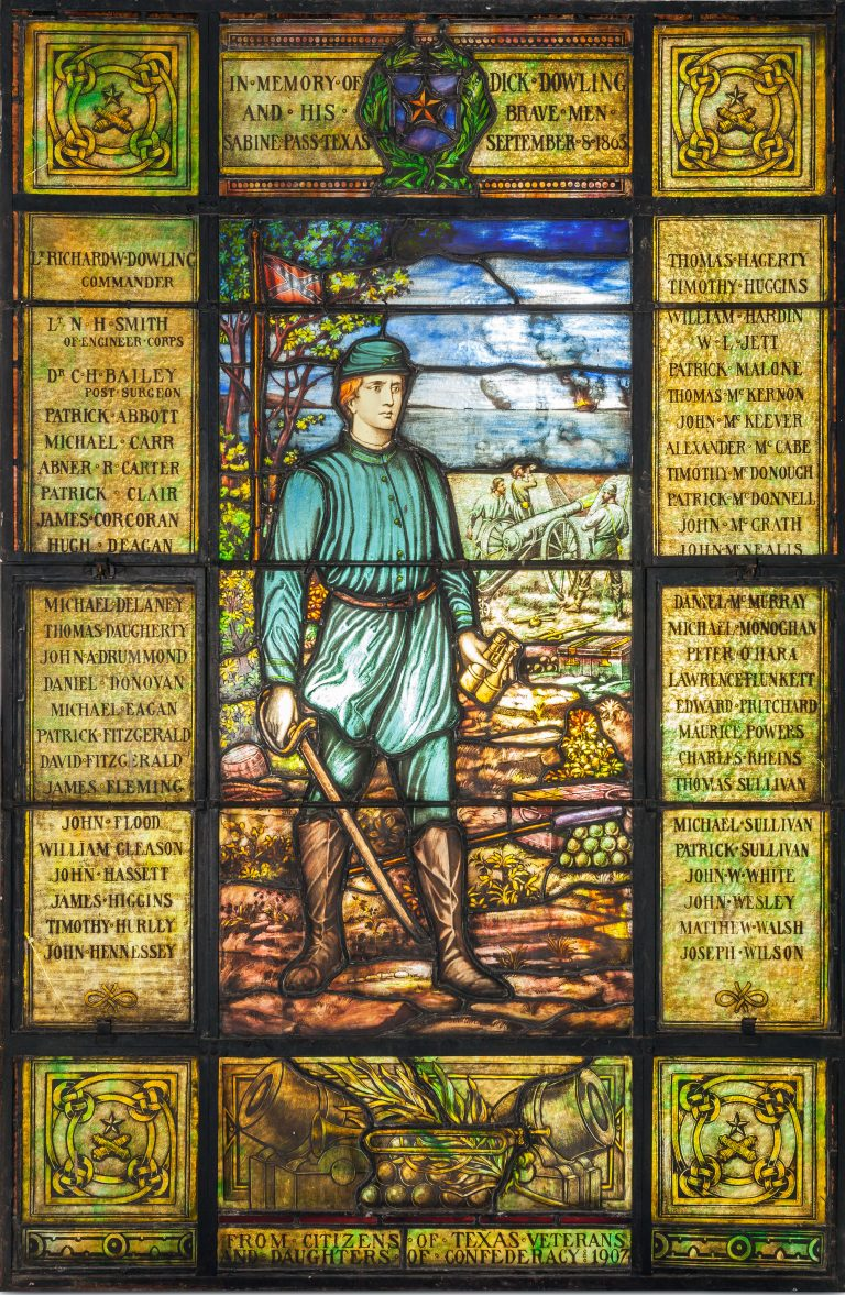 Stained Glass Confederate Memorial