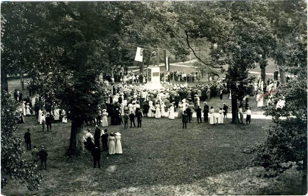 Unveiling of the Silent Sam Confederate Memorial
