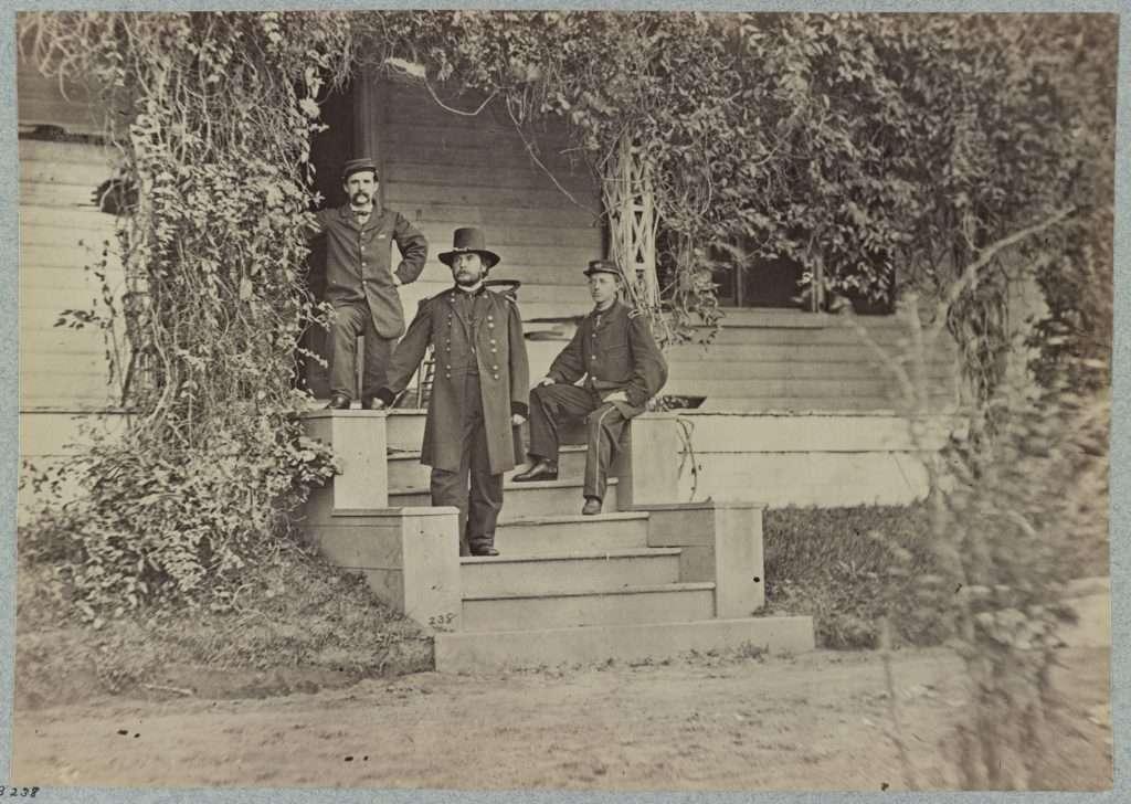 Appomattox Manor under Union Occupation