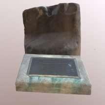 Slave Auction Block in Fredericksburg