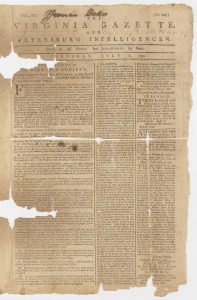 Virginia Society for Promoting the Abolition of Slavery, The