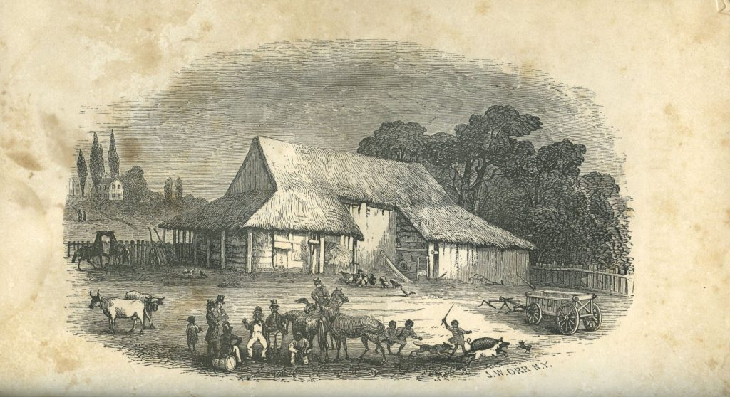 Sketch of the Old Barn