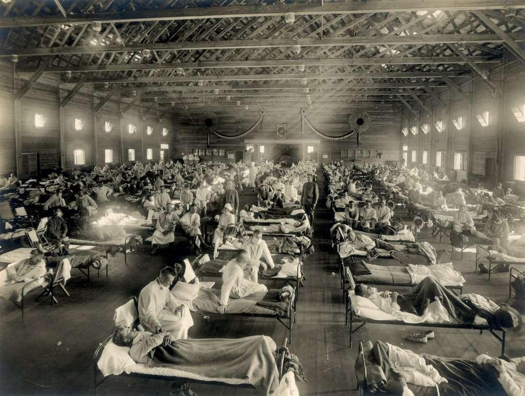 Army Hospital Ward in Kansas