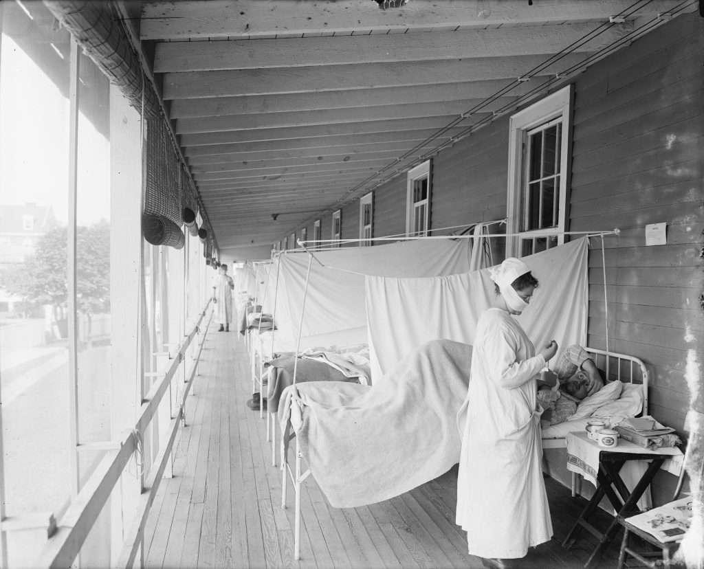 Influenza Ward at Walter Reed Hospital