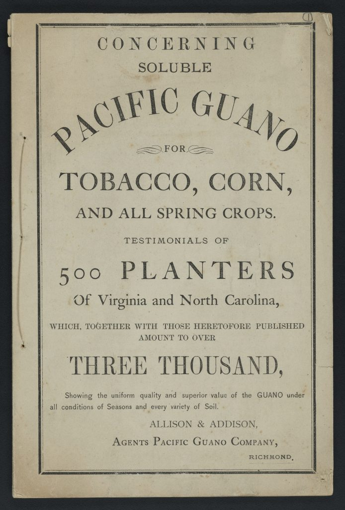 Concerning Soluble Pacific Guano for Tobacco