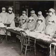 Making Anti-Influenza Masks