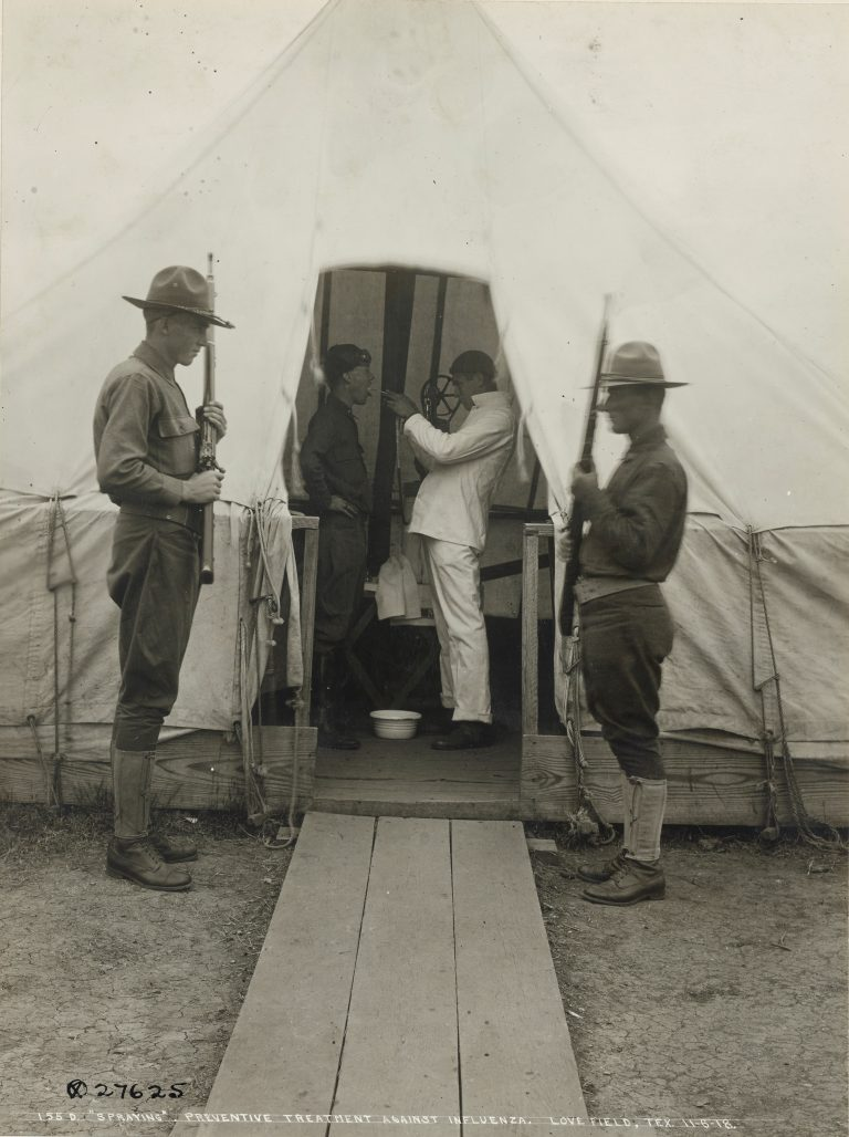 Treating Soldiers to Prevent Influenza