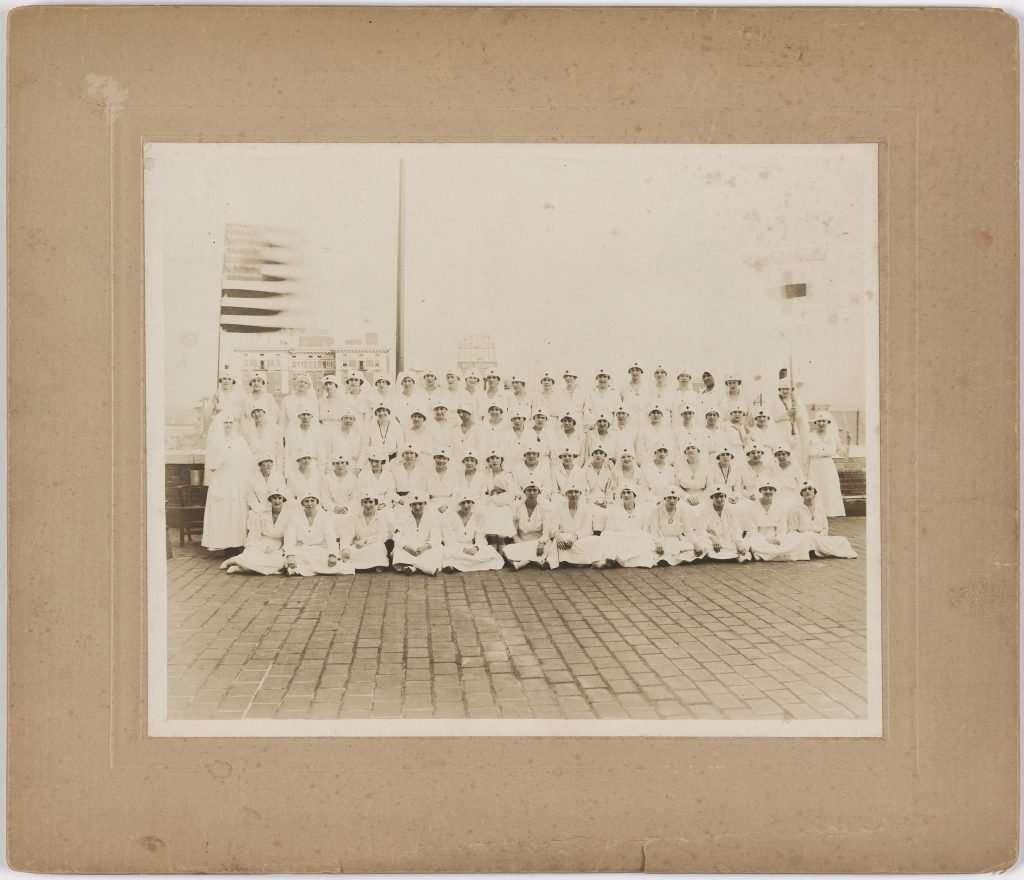 Nurses in Richmond during World War I