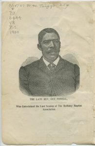 Powell, Guy (d. by November 19, 1900)