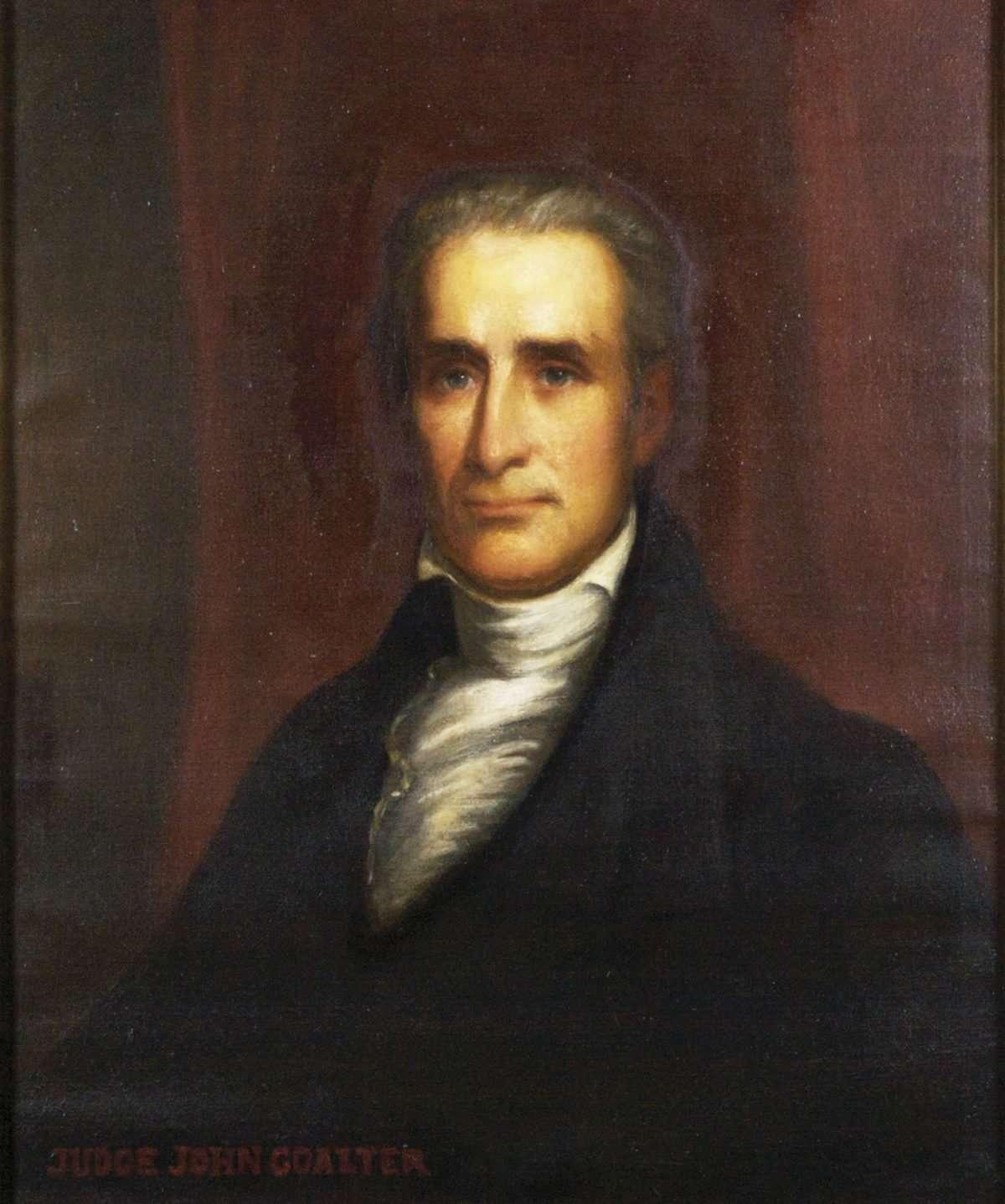 Judge John Coalter