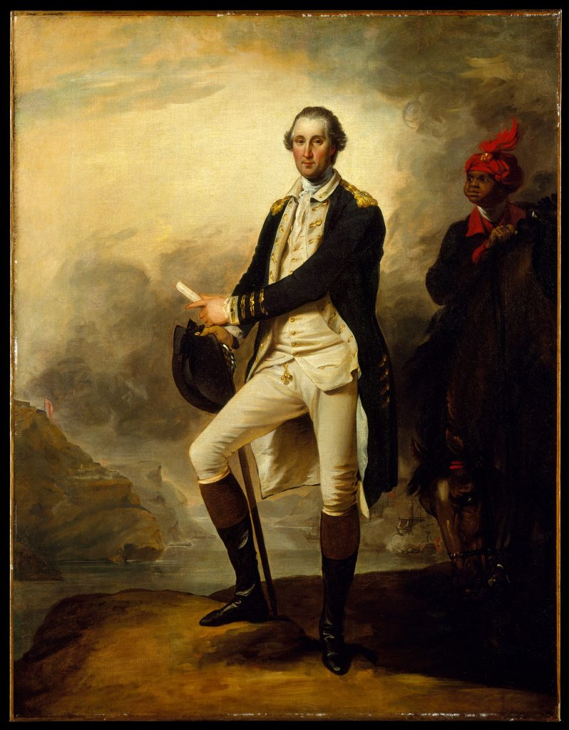 George Washington and William Lee