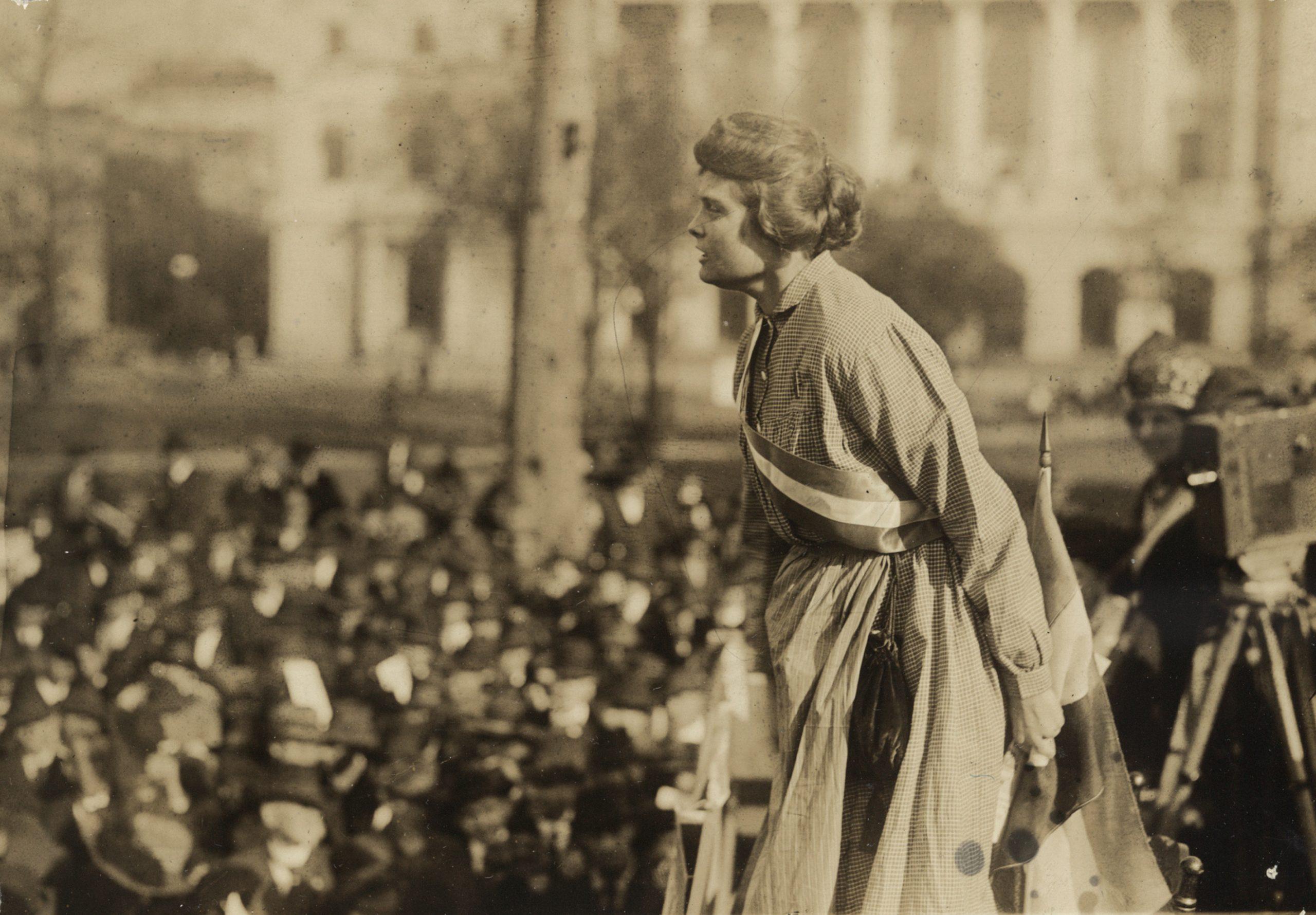 Formerly Imprisoned Suffragist on Speaking Tour