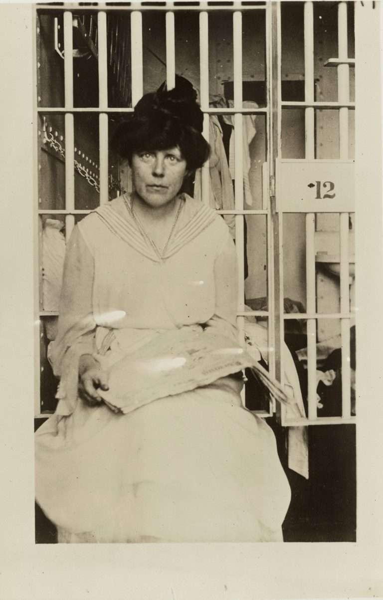 Woman Suffragist Inside Prison