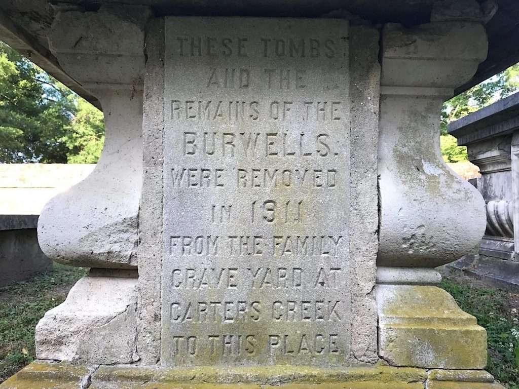 Burwell Family Graves