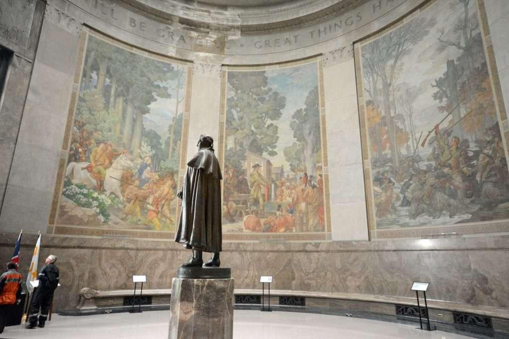 George Rogers Clark Memorial in Indiana