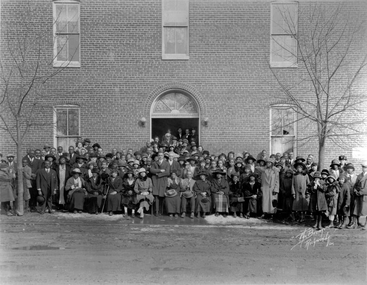 Shiloh Baptist Church (Old Site) in Fredericksburg